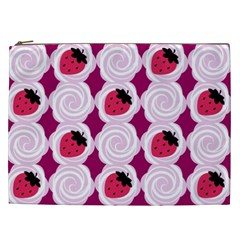 Cake Top Grape Cosmetic Bag (xxl)
