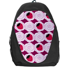 Cake Top Grape Backpack Bag