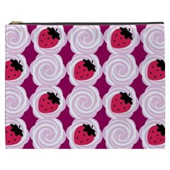 Cake Top Grape Cosmetic Bag (xxxl)