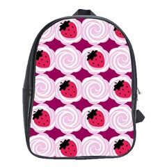 Cake Top Grape School Bag (xl)