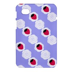 Cake Top Blueberry Samsung Galaxy Tab 7  P1000 Hardshell Case
