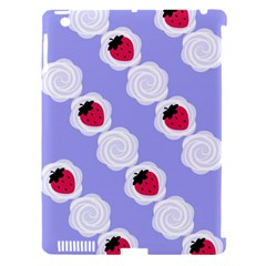 Cake Top Blueberry Apple Ipad 3/4 Hardshell Case (compatible With Smart Cover)