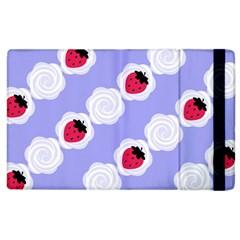 Cake Top Blueberry Apple iPad 3/4 Flip Case