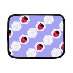 Cake Top Blueberry Netbook Case (Small)