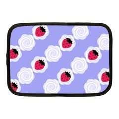 Cake Top Blueberry Netbook Case (medium)