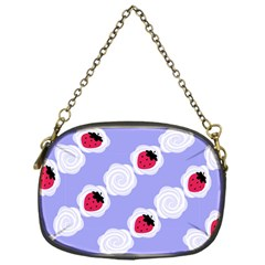 Cake Top Blueberry Chain Purse (one Side)