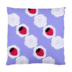 Cake Top Blueberry Cushion Case (One Side)