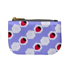 Cake Top Blueberry Mini Coin Purse