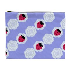 Cake Top Blueberry Cosmetic Bag (XL)