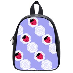 Cake Top Blueberry School Bag (small)