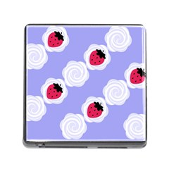Cake Top Blueberry Memory Card Reader with Storage (Square)