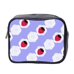 Cake Top Blueberry Mini Toiletries Bag (Two Sides)