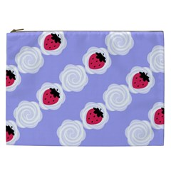 Cake Top Blueberry Cosmetic Bag (XXL)