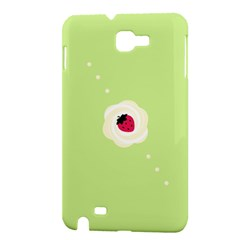 Cake Top Lime Samsung Galaxy Note Hardshell Case