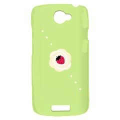 Cake Top Lime HTC One S Hardshell Case