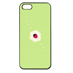 Cake Top Lime Apple iPhone 5 Seamless Case (Black)