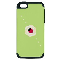 Cake Top Lime Apple iPhone 5 Hardshell Case (PC+Silicone)