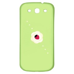 Cake Top Lime Samsung Galaxy S3 S III Classic Hardshell Back Case