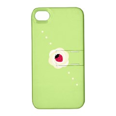 Cake Top Lime Apple iPhone 4/4S Hardshell Case with Stand