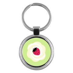 Cake Top Lime Key Chain (Round)