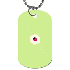 Cake Top Lime Dog Tag (One Side)