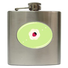Cake Top Lime Hip Flask (6 oz)