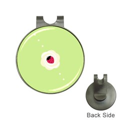 Cake Top Lime Golf Ball Marker Hat Clip