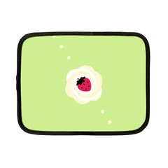 Cake Top Lime Netbook Case (Small)