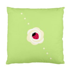 Cake Top Lime Cushion Case (Two Sides)