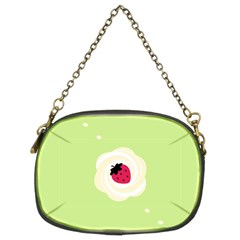 Cake Top Lime Chain Purse (Two Sides)