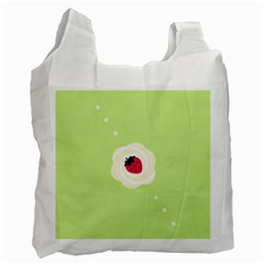Cake Top Lime Recycle Bag (One Side)