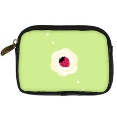 Cake Top Lime Digital Camera Leather Case