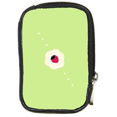 Cake Top Lime Compact Camera Leather Case