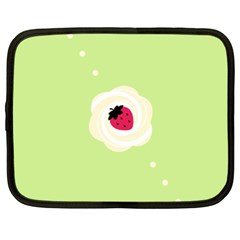 Cake Top Lime Netbook Case (XL)