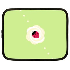 Cake Top Lime Netbook Case (xxl)