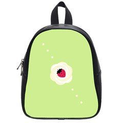 Cake Top Lime School Bag (Small)