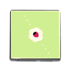 Cake Top Lime Memory Card Reader with Storage (Square)
