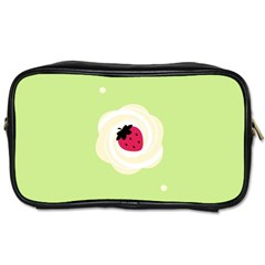 Cake Top Lime Toiletries Bag (two Sides)