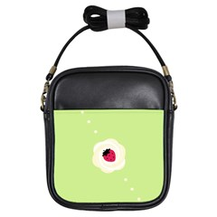 Cake Top Lime Girls Sling Bag