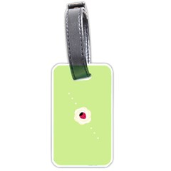 Cake Top Lime Luggage Tag (one Side)