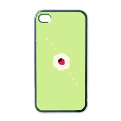 Cake Top Lime Apple iPhone 4 Case (Black)