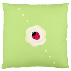 Cake Top Lime Large Cushion Case (One Side)