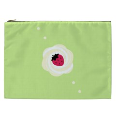 Cake Top Lime Cosmetic Bag (xxl)