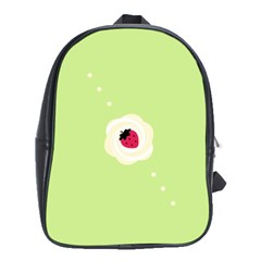 Cake Top Lime School Bag (XL)