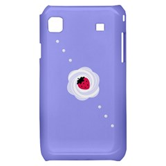 Cake Top Purple Samsung Galaxy S i9000 Hardshell Case