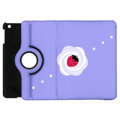 Cake Top Purple Apple iPad Mini Flip 360 Case