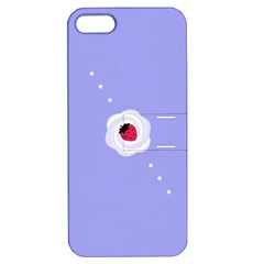 Cake Top Purple Apple iPhone 5 Hardshell Case with Stand