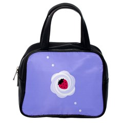 Cake Top Purple Classic Handbag (One Side)