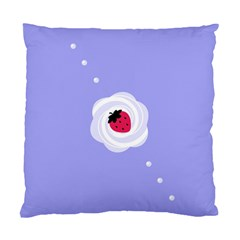 Cake Top Purple Cushion Case (Two Sides)
