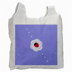 Cake Top Purple Recycle Bag (one Side)